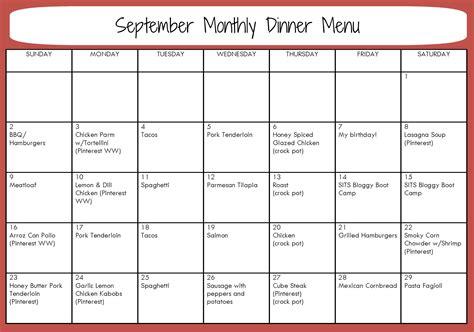 monthly menu template 8 best images of sle monthly menu planner printable weekly diet meal plans printable