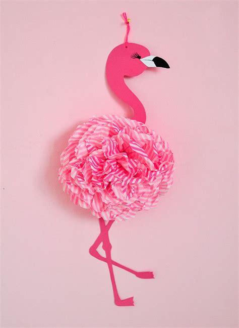 pink flamingo diys fuers maedchenzimmer feelin crafty