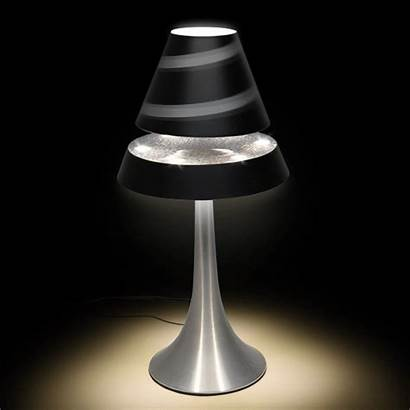 Lamp Table Levitating Levitron Steel Throwing Shade