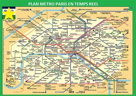 Plan Interactif Metro 75