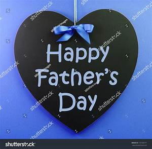 Happy Fathers Day Message Written On Stock Photo 133106771 ...