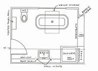 bathroom floor plan 6 x 12 bathroom floor plans | bathroom design 2017-2018 | Pinterest | Bathroom floor plans ...