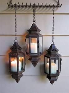 Rust, Patina, Hanging, Lantern, For, Wedding, Pathway, Patio