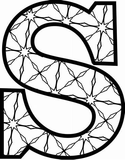 Letters Letter Printable Alphabet Pattern Coloring Templates