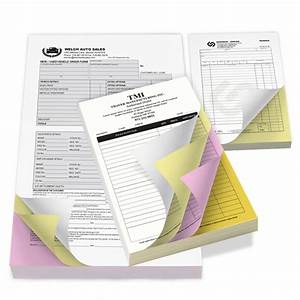 custom carbonless forms business forms printrunnercom With carbon invoice printing
