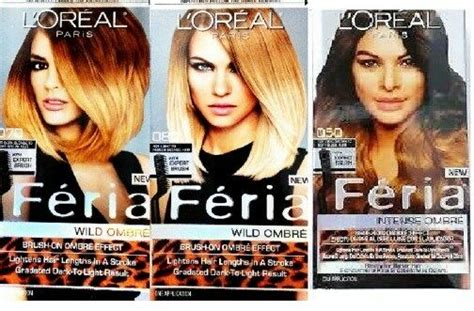 Loreal Paris Feria Ombre Brush On Hair Color Lightens Hair