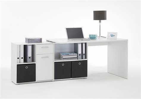 bureau avec retour ikea bureau moderne blanc avec plateau tournant