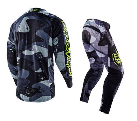camo motocross troy lee designs new 2016 tld mx se cosmic camo grey