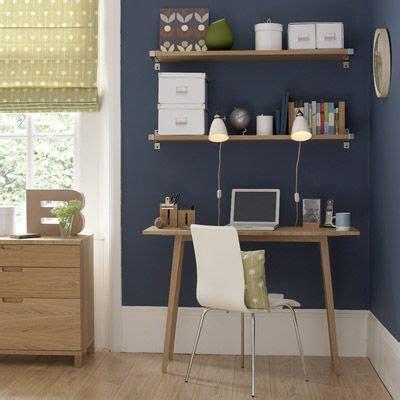 bureau bleu idées déco bureau et couleurs tendance pour espace de travail