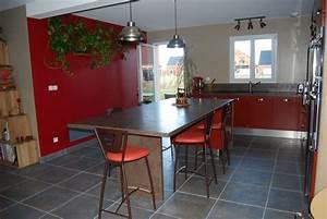Couleur Qui Va Avec Le Rouge : cuisine mur rouge 29 messages page 2 ~ Melissatoandfro.com Idées de Décoration