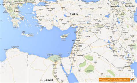 cyprus cyprus location cyprus island map