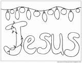 Coloring Pages Christmas Husband Jesus Lights Cup Snow Overflows Template sketch template