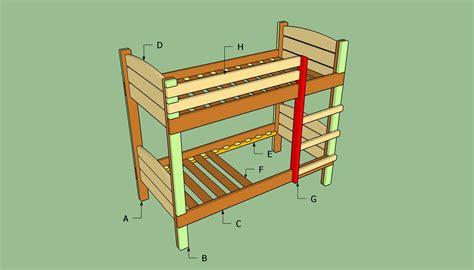 build  bunk bed howtospecialist   build step  step diy plans