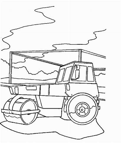 Construction Coloring Pages Printable Constructions Site Birthday