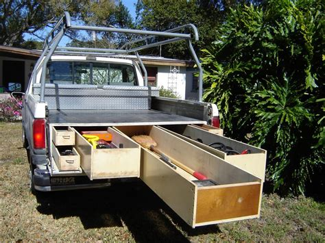 truck bed storage drawers the mcgowan family chronicles new c trailer idea