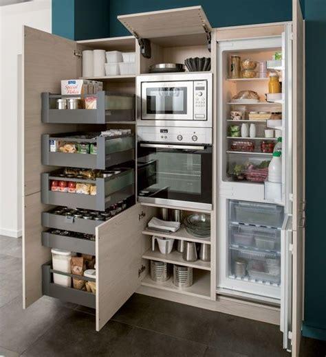 meuble cuisine schmidt les 25 meilleures idées concernant rangement cuisine sur