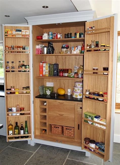 kitchen cabinet pantry unit larder doors upgrade height pull out larder 5649