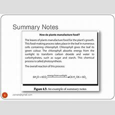 Note Making And Notetaking Skills
