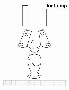L Coloring Pages Printable Letter Preschool And