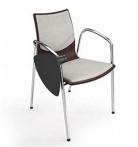 Stuhl Mit Schreibplatte : stapelstuhl die mit schreibplatte ausgestattet werden kann raffiniertes italienisches design ~ Frokenaadalensverden.com Haus und Dekorationen