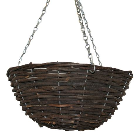 wicker kitchen furniture wicker hanging basket
