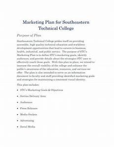 11  College Marketing Plan Templates In Pdf