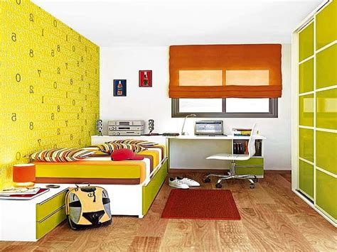 Living Room Decorating Ideas Feature Wall, Yellow And