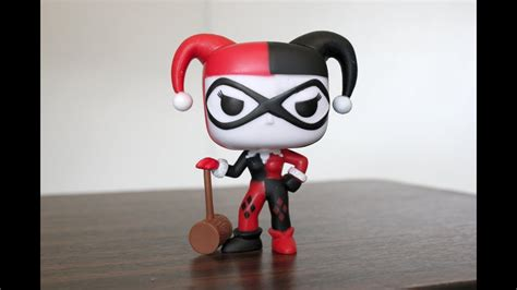 harley quinn  mallet funko pop review youtube