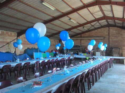 decoration bapteme garcon ballon