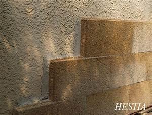 hestia isolation bloc chaux chanvre isolant phonique With isolation phonique mur exterieur