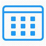Calendar Icon Date Vectorified Personal Femei