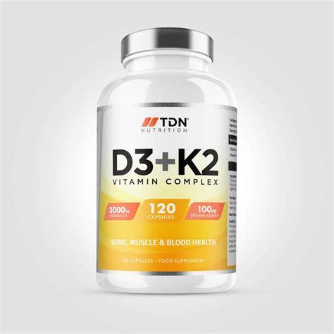 Get more information on proper dosage, safety and side effects of vitamin k. Vitamin D3 & K2 - TDN Nutrition