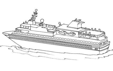 Dessin à Imprimer Bateau Titanic by Paquebot Bateau De Croisi 232 Re 10 Transport