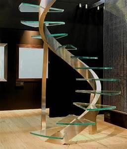 Escalier Moderne Pas Cher : design d 39 escalier h lico dal ~ Premium-room.com Idées de Décoration