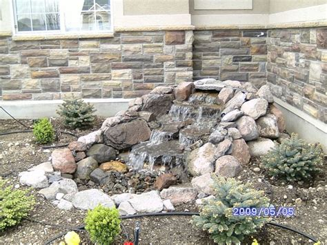 pondless water features pondless waterfalls