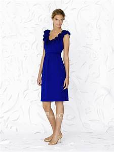 royal blue bridesmaid dresses going great with white With royal blue dress for wedding