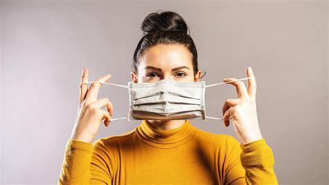 sabe como usar  mascara facial corretamente