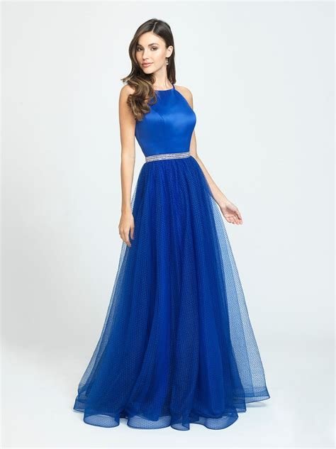 madison james   swiss dotted tulle prom gown french