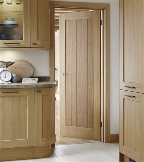 pre finished genoa oak door howdens joinery