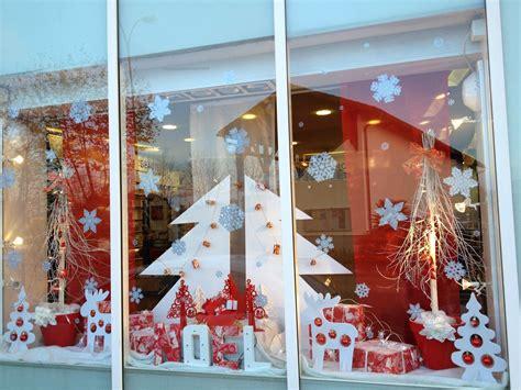 decoration vitrine noel pharmacie