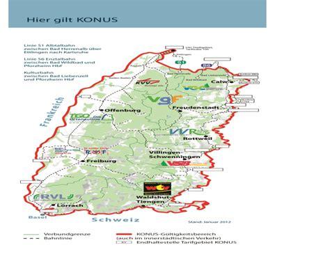 Schwarzwald Konus Karte
