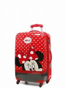 Valise Enfant Fille : valise disney minnie 65 cm valise pour enfants rigide 4 roues disney minnie 65 cm ~ Teatrodelosmanantiales.com Idées de Décoration
