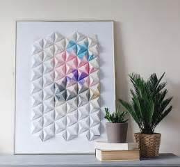 design sponge diy origami wall display design sponge bloglovin