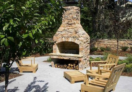 how to build a stacked fireplace outdoor fireplace kits lovetoknow
