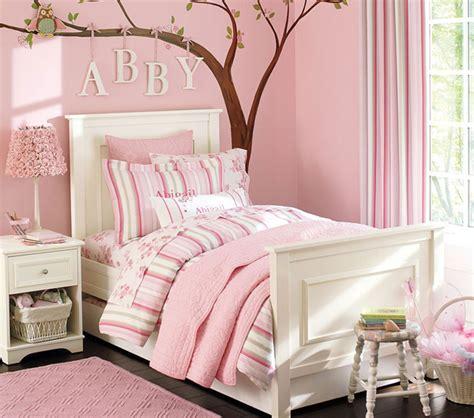 pink walls bedroom pink kids bedroom ideas with tree wall decals