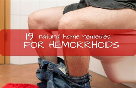 How To Get Rid Of Hemorrhoids Naturally 19 Home Remedies