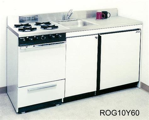 Larger Acme Compact, Unit Kitchen with Ovens
