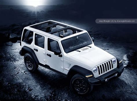 white jeep 2018 2018 jeep wrangler redesign release date diesel pickup