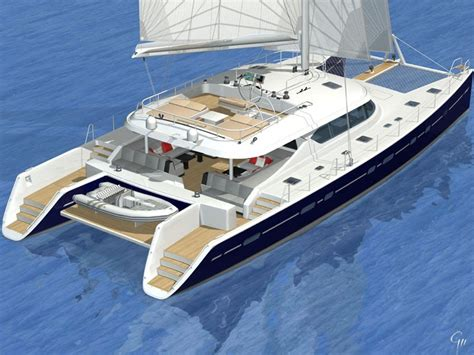 Sailing Catamaran With Daggerboards by Luxury Catamaran The Exclusive 76 The Yacht Of Dreams