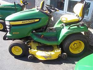 John Deere X500 Parts